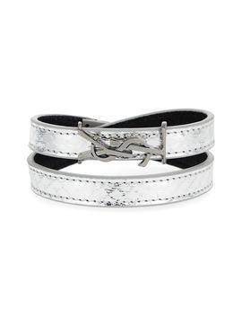 Ysl Double Wrap Bracelet by Saint Laurent