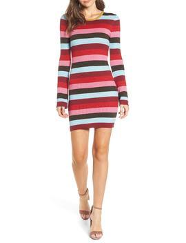 Stripe Sweater Dress by Blanknyc