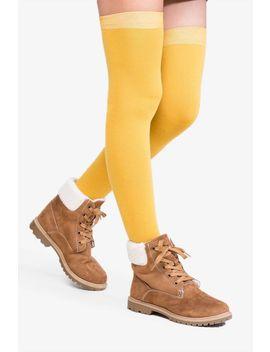 Clueless Over The Knee Socks by A'gaci