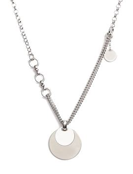 Double Strand Disc Necklace by Something Navy