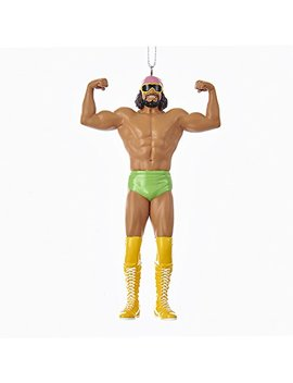 Kurt Adler 5 Inch Resin Wwe Macho Man Randy Savage Christmas Ornament by Kurt Adler