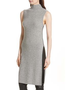 Stori Double Slit Sweater Dress by Alice + Olivia