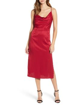 Lotti Cowl Neck Midi Dress by The Fifth Label