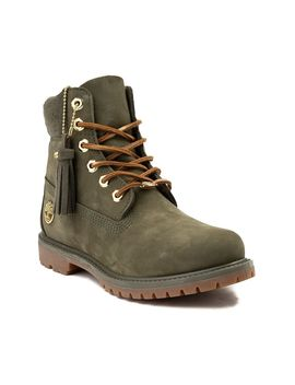 "Womens Timberland 6"" Premium Wool Collar Boot by Timberland"