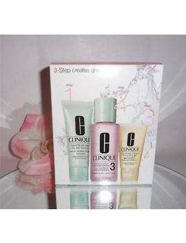 Clinique 3 Step Skin Care System Type 3 Combination Oily To Oily by Clinique