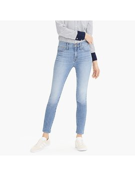 "Petite 9"" High Rise Toothpick Eco Jean In Light Blue Wash by J.Crew"