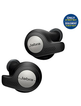 Jabra Elite Active 65t In Ear Noise Cancelling Truly Wireless Headphones   Black   Only At Best Buy by Jabra