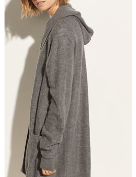 Hooded Cashmere Cardigan by Vince