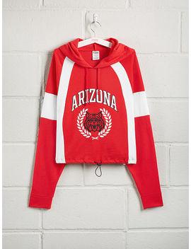 University Of Arizona Colorblock Bungee Hem Pullover by Victoria's Secret