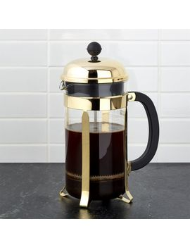 Bodum ® Chambord Gold 34 Ounce French Press by Crate&Barrel