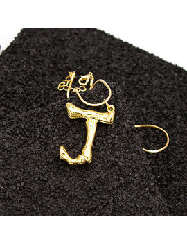 Women Gold Plated Initial A Z Alphabet Pendant Necklace Long Chain Jewelry Gift by Unbranded