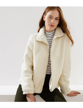 Petite Plush Jacket by Loft