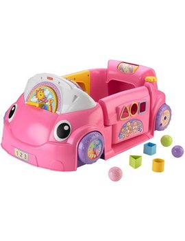 Fisher Price Laugh & Learn Crawl Around Car   Pink by Laugh & Learn