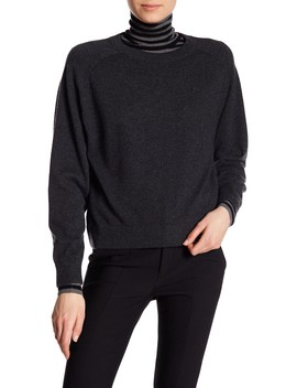 Cashmere Saddle Pullover by Vince