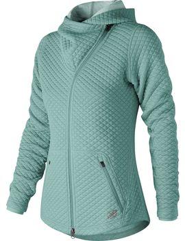 New Balance Women's Heat Loft Asymmetrical Full Zip Jacket by New Balance