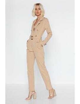 Sergeant Major Jumpsuit by Nasty Gal