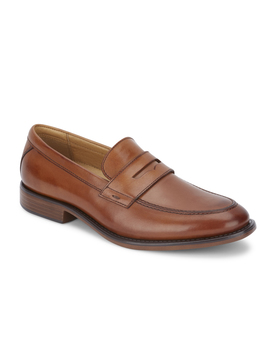 Dockers Mens Harmon Genuine Leather Business Dress Penny Slip On Loafer Shoe by Dockers