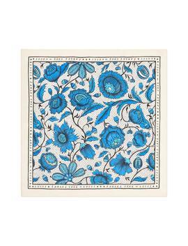 Alsaciard Floral Silk Twill Scarf by Gucci