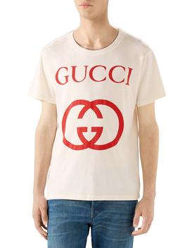 New Logo T Shirt by Gucci