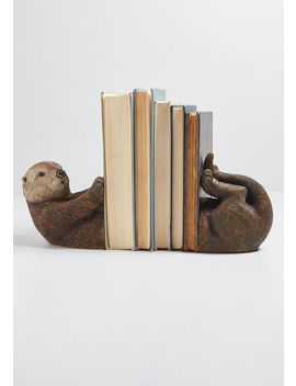 Alma Otter Bookends by Modcloth