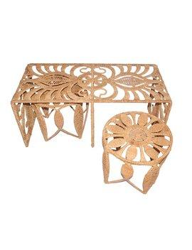 Jo Liza Rope Charlotte 3 Piece Nesting Table by Jo Liza International Corp.