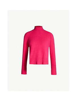 Funnel Neck Brushed Wool Jumper by Whistles