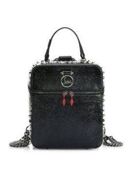 Rubylou Vintage Leather Backpack by Christian Louboutin