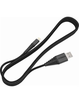 10' Lightning Usb Charge And Sync Cable   Black by Otter Box