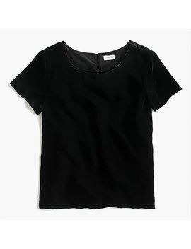 Velvet T Shirt by J.Crew