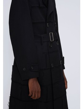 Gabardine Trench by Comme Des Garcons Homme Plus