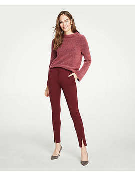 High Waist Bi Stretch Pants by Ann Taylor