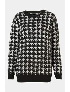 'houndstooth' Sweater by Topshop