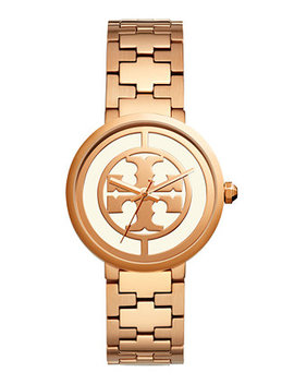 Women's Reva Rose Gold Tone Stainless Steel Bracelet Watch 36mm by Tory Burch