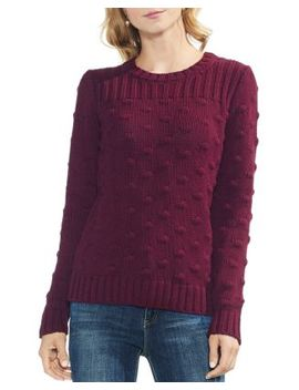 Popcorn Knit Sweater by Vince Camuto Petites