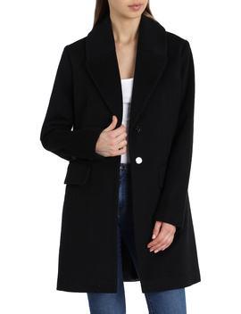 Wool Blend Coat by Badgley Mischka
