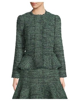 Tweed Fit & Flare Jacket by Rebecca Taylor