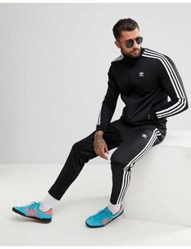 Adidas Originals Adicolor Beckenbauer Skinny Tracksuit In Black by Adidas Originals