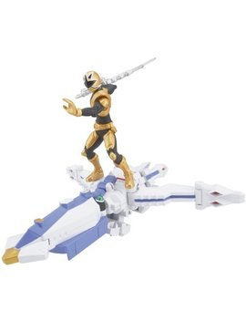 Power Ranger Zord Vehicle W/Figure, Octo Zord With Gold Ranger by Power Rangers
