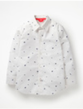 Space Print Party Shirt by Boden