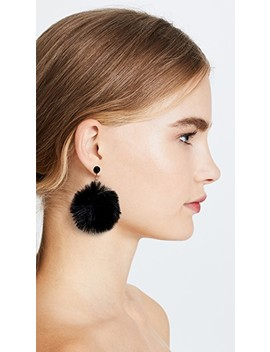 Chic And Cushy Pouf Earrings by Kate Spade New York