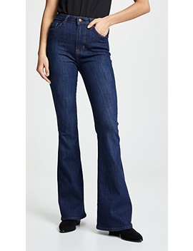 Holly High Rise Flare Jeans by Hudson