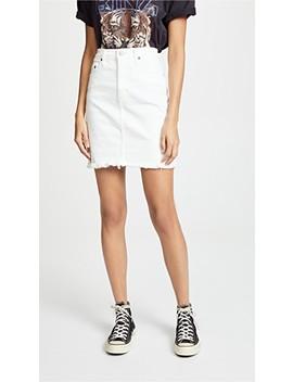 The Siren High Rise Denim Skirt by Nobody Denim