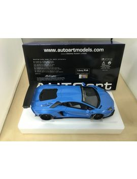 Aut Oart 1/18 Liberty Walk Lb Works Lamborghini Aventador Metallic · Sky Blue 791 by Aut Oart
