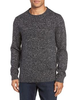 Marled Cotton & Cashmere Roll Neck Sweater by Nordstrom Men's Shop