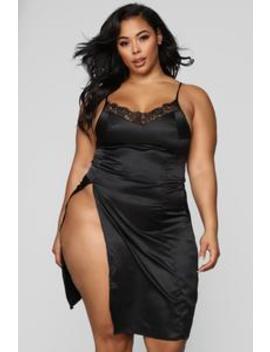 Ma Petite Amie Gown   Black by Fashion Nova