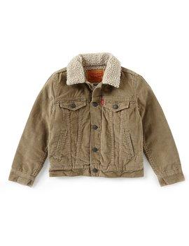 Levi's® Little Boys 2 T 7 Sherpa Lined Trucker Jacket by Levi's