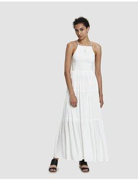 Phoebe Cross Back Maxi Dress by Farrow