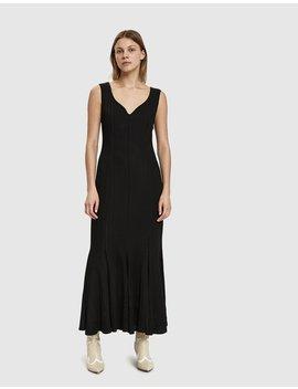 Panel Seam Sleeveless Dress by Aalto