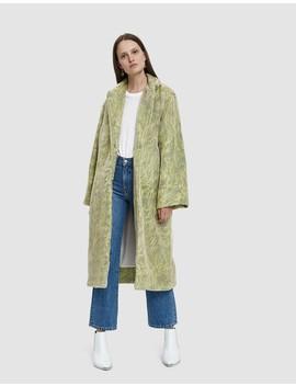 Easy E Organza Faux Fur Jacket by Collina Strada