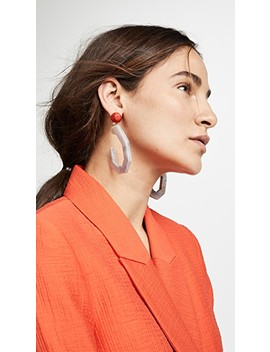 Cartwheel Earrings by Rachel Comey